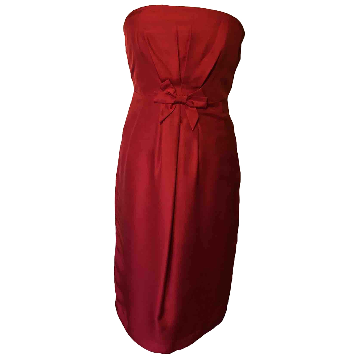 Lk Bennett \N Red Silk dress for Women 10 UK