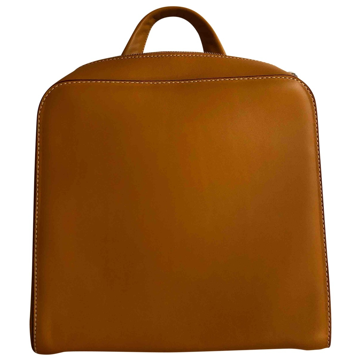 Acqua Di Parma \N Camel Leather backpack for Women \N