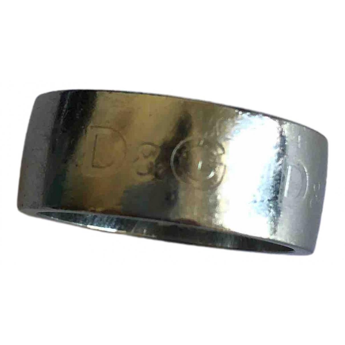 D&g \N Ring in  Silber Metall