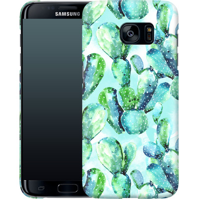 Samsung Galaxy S7 Edge Smartphone Huelle - Cactus Tropicana von Mark Ashkenazi