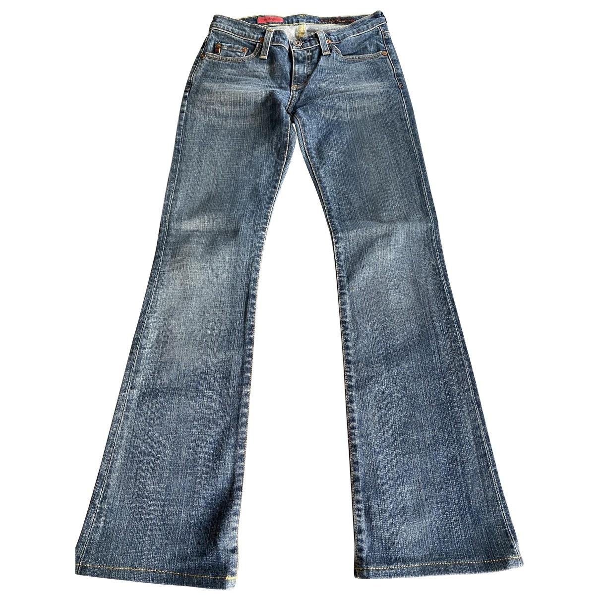 Ag Adriano Goldschmied \N Blue Cotton Jeans for Women 25 US