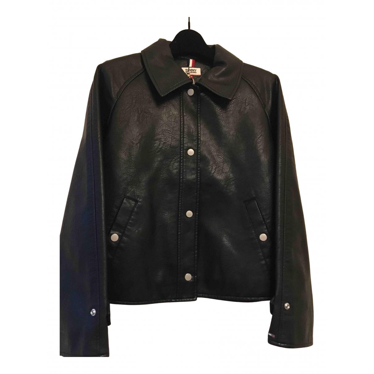Tommy Jeans N Black jacket for Women M International