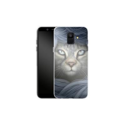 Samsung Galaxy A6 Silikon Handyhuelle - Ripple von Dan May