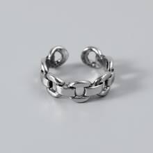 Maenner Ring mit Kette Design
