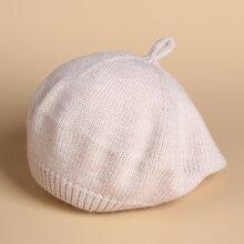 Boina de bebe tejida