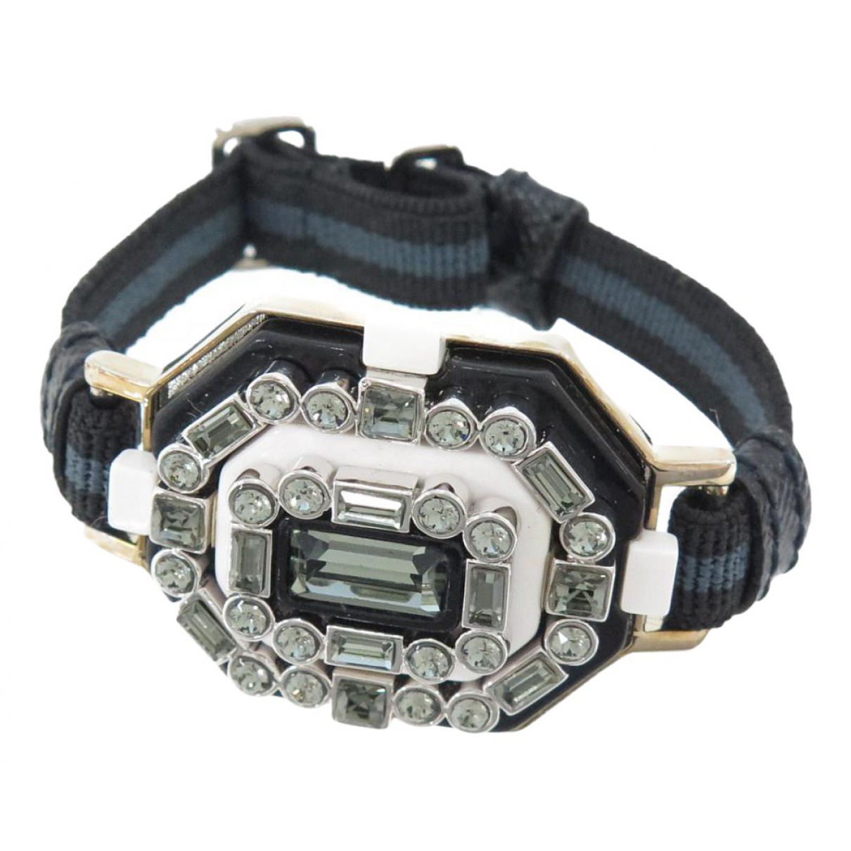 Prada N Black Cloth bracelet for Women N