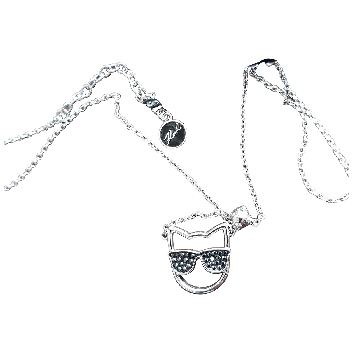 Karl \N Silver Metal necklace for Women \N