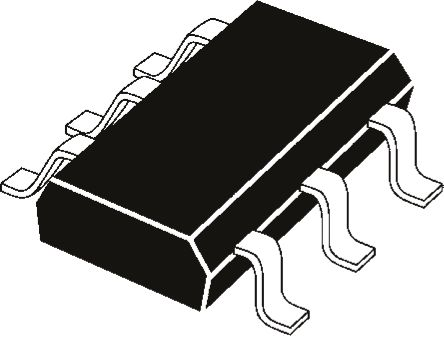 ROHM , UMB10NTN, Dual PNP Digital Transistor, 100 mA 50 V 2.2 kΩ, Ratio Of 0.047, 6-Pin SOT-363 (75)