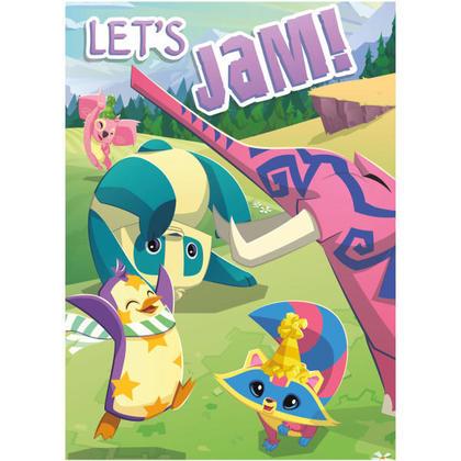 Animal Jam 8 Invitations For Birthday Party
