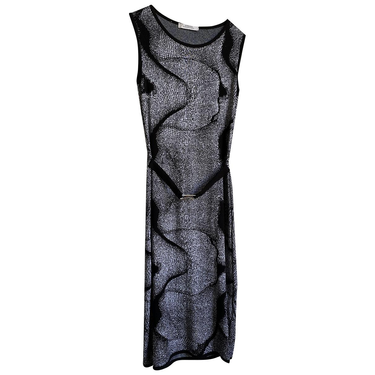 Versace - Robe   pour femme - gris