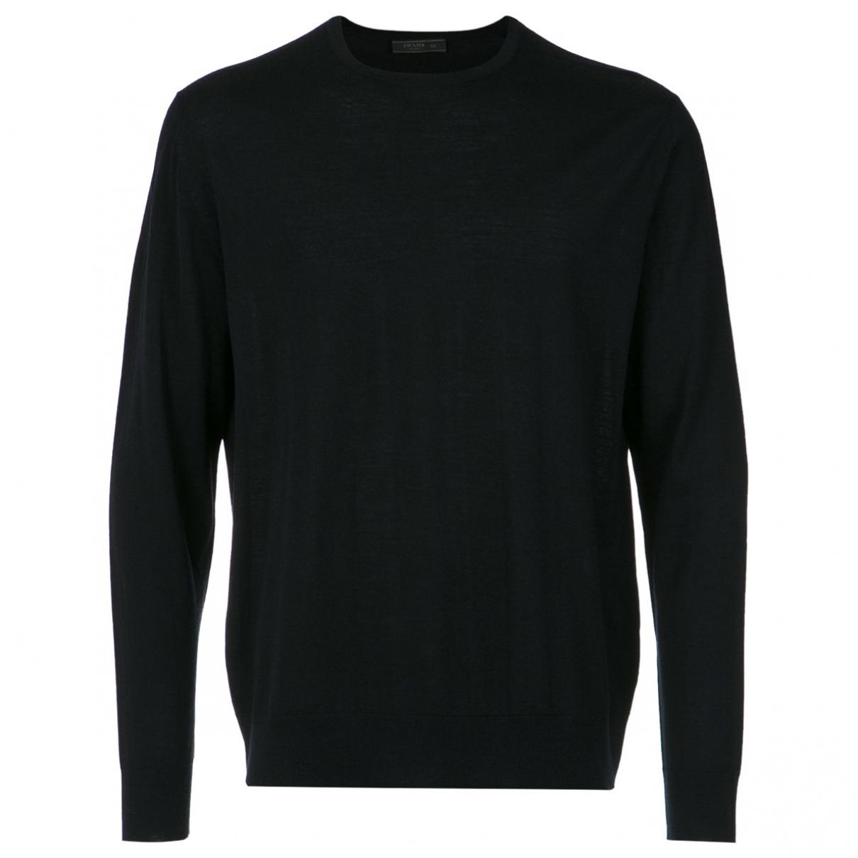 Prada \N Blue Wool Knitwear & Sweatshirts for Men 46 IT