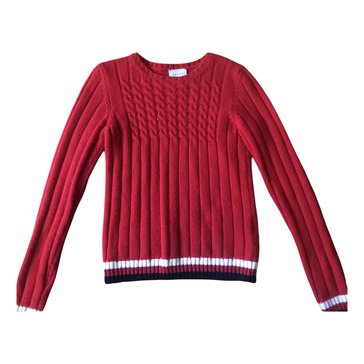 Gucci N Red Wool Knitwear for Kids 10 years - up to 142cm FR