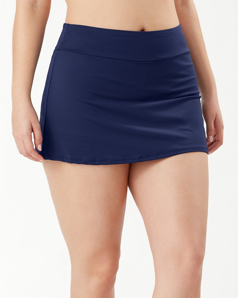 Pearl Pull-On Skirt With Shorts
