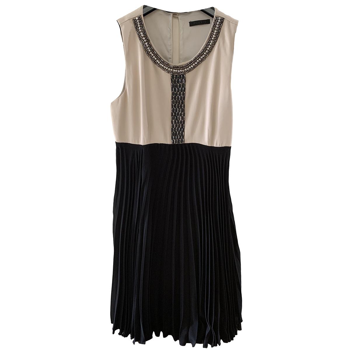 Pinko \N Kleid in  Schwarz Synthetik
