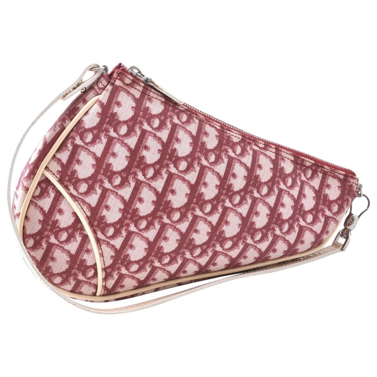 Dior \N Handtasche in  Rot Leder