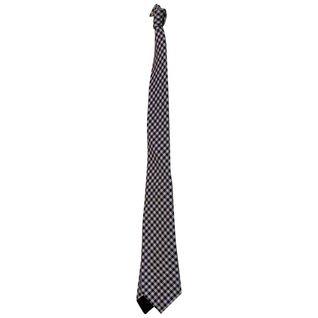 Bottega Veneta \N Purple Silk Ties for Men \N