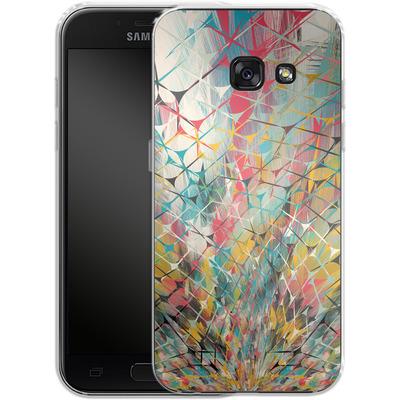 Samsung Galaxy A3 (2017) Silikon Handyhuelle - Spider Explosion von Danny Ivan