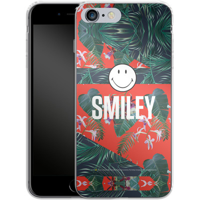 Apple iPhone 6s Plus Silikon Handyhuelle - Tropical Groove von Smiley®