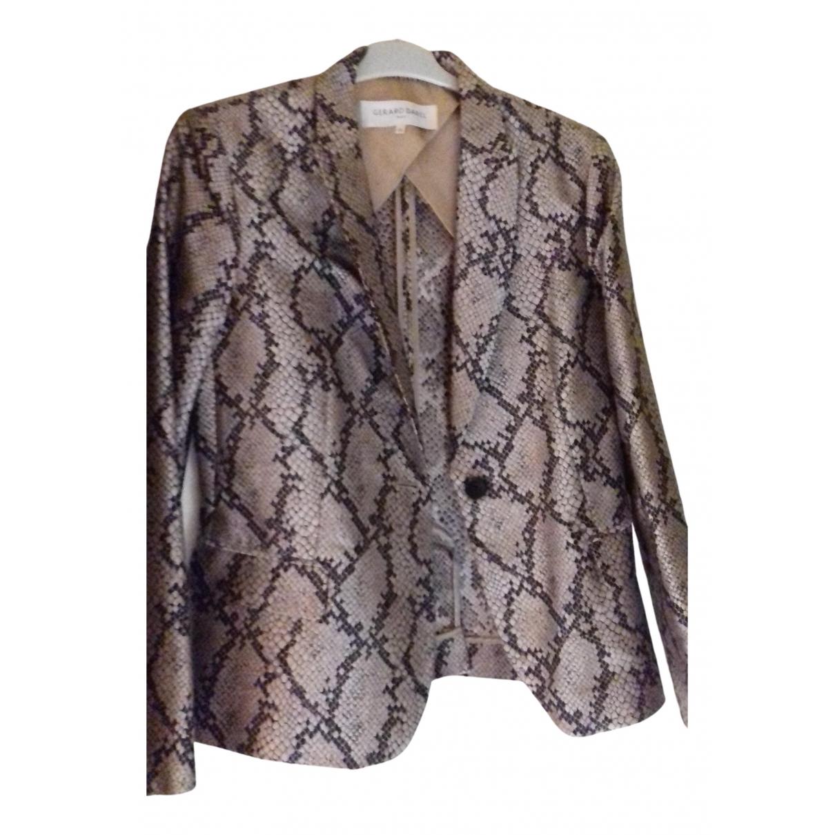 Gerard Darel N Beige jacket for Women 40 FR