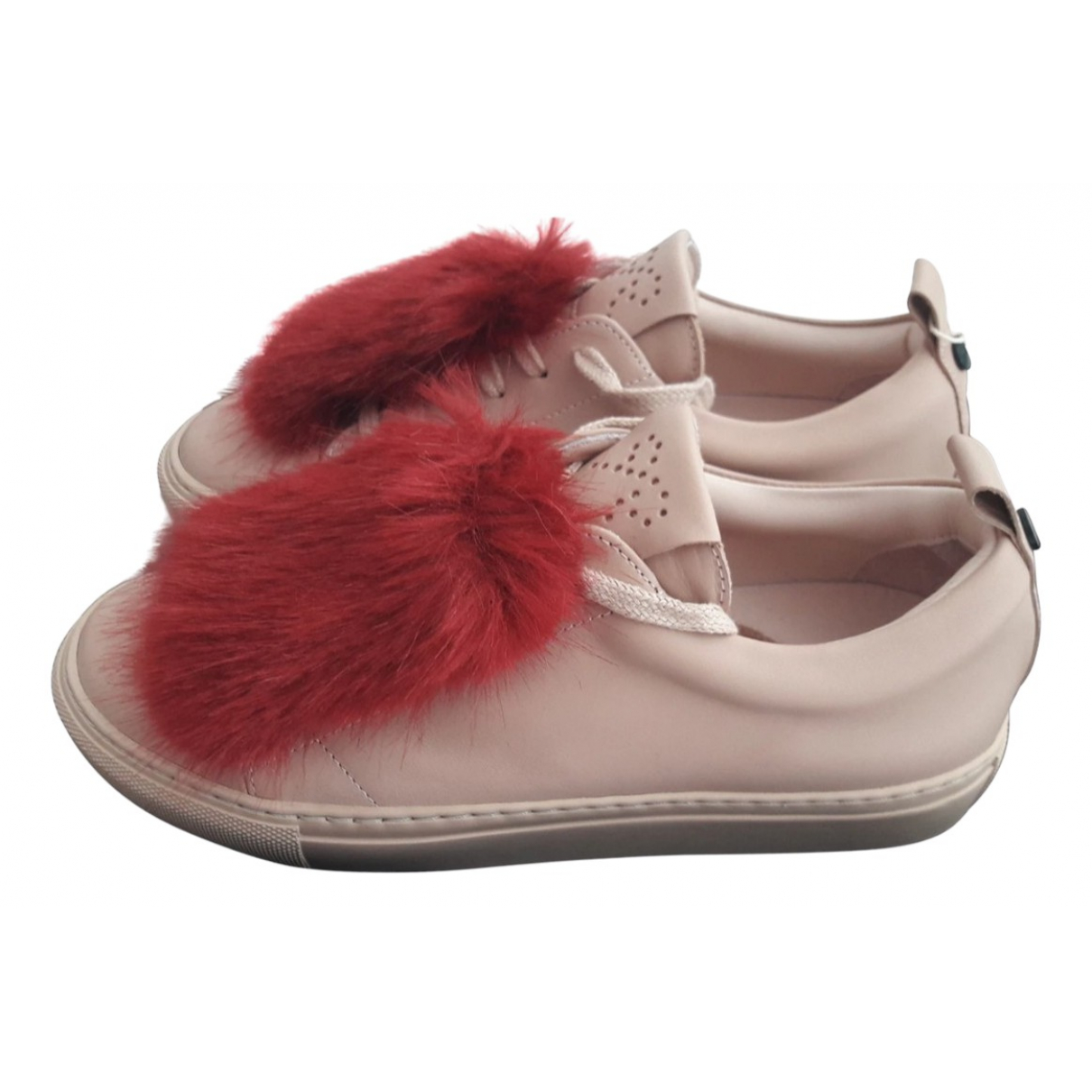 Josefina \N Sneakers in  Rosa Lackleder