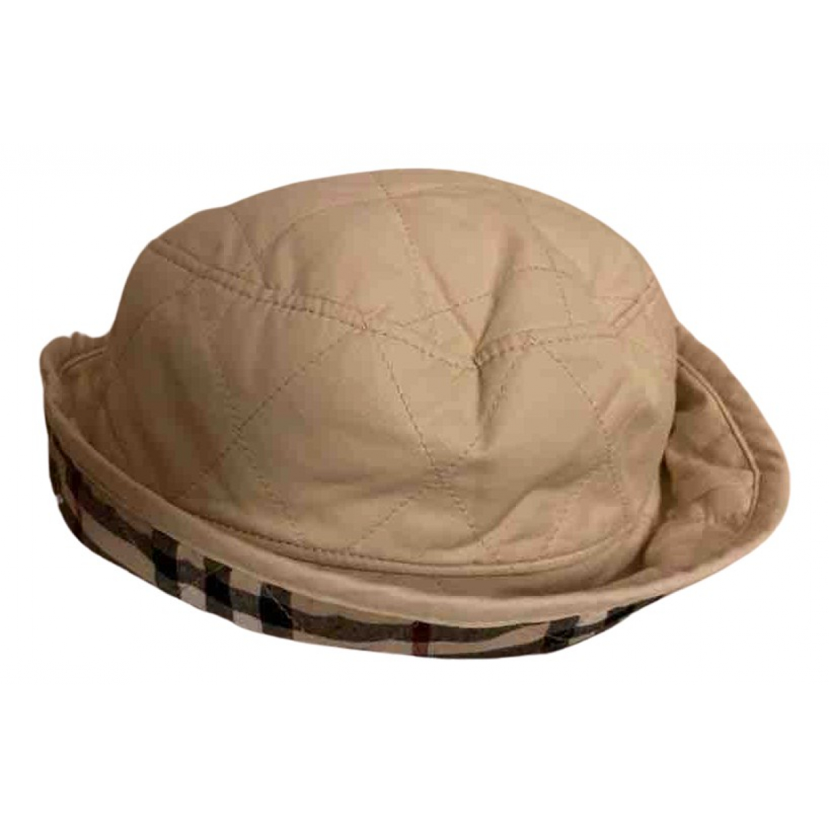 Burberry \N Hut, Muetzen, Handschuhe in  Beige Baumwolle