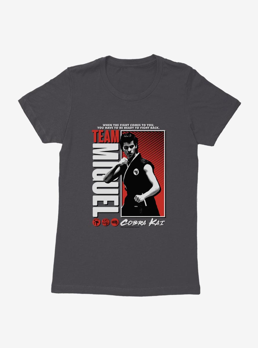 Cobra Kai Team Miguel Womens T-Shirt