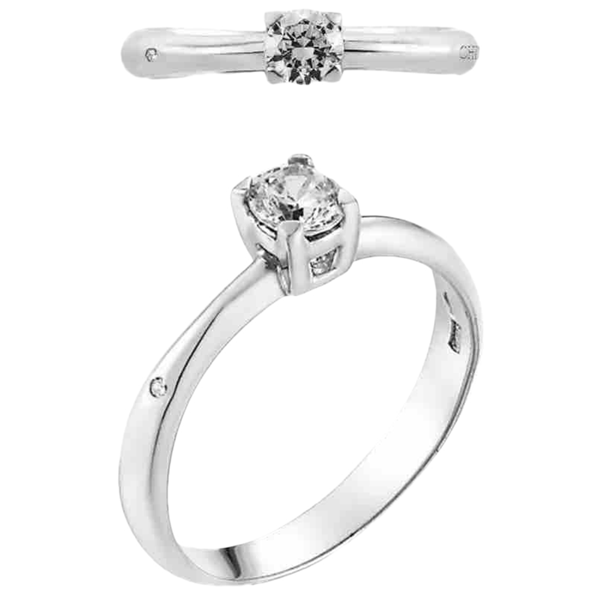 Chimento \N Ring in  Weiss Weissgold