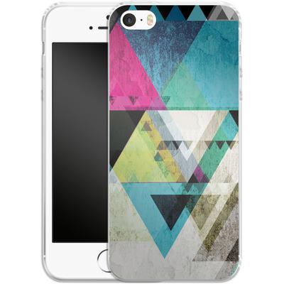 Apple iPhone SE Silikon Handyhuelle - Graphic 4x von Mareike Bohmer