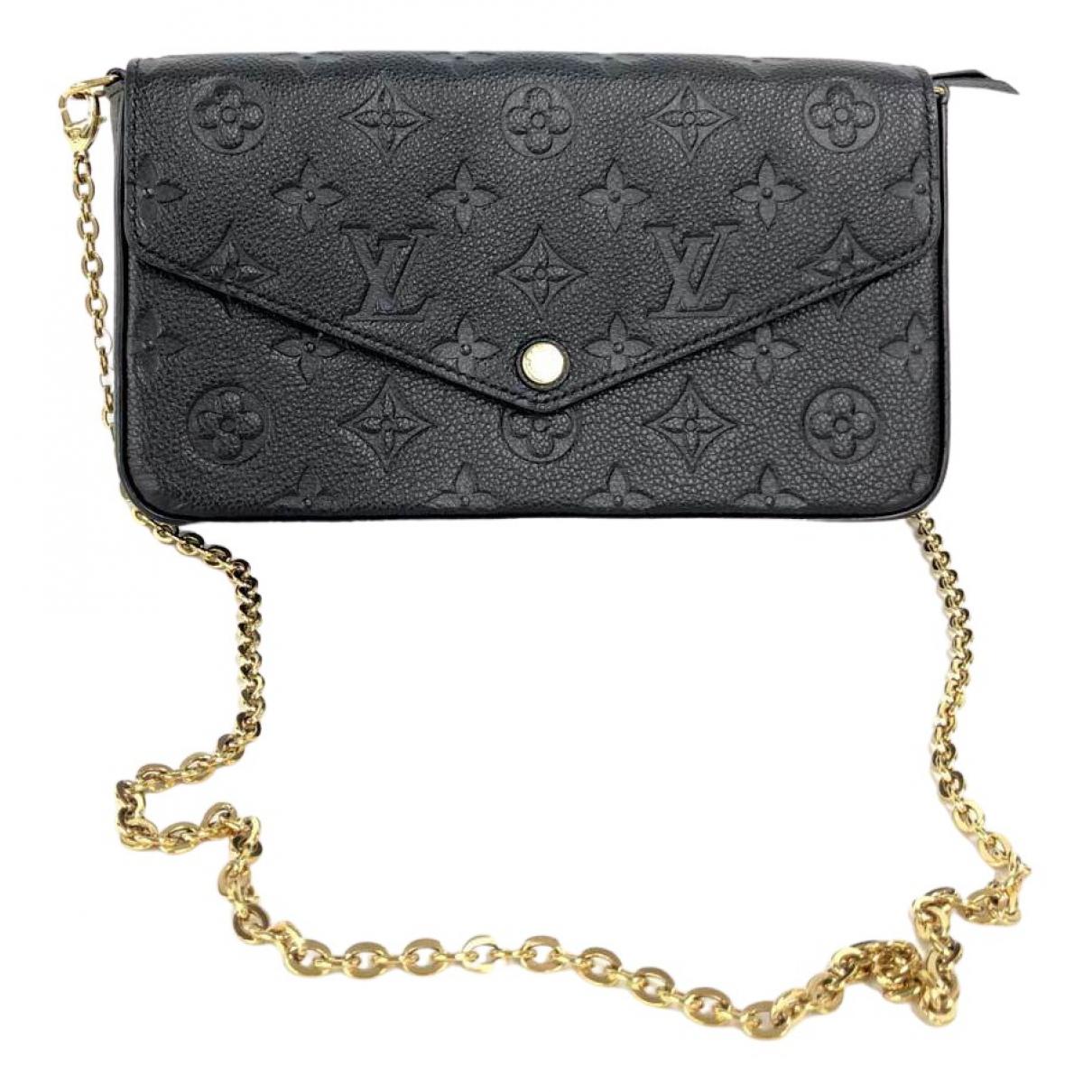 Pochette Felicie de Cuero Louis Vuitton