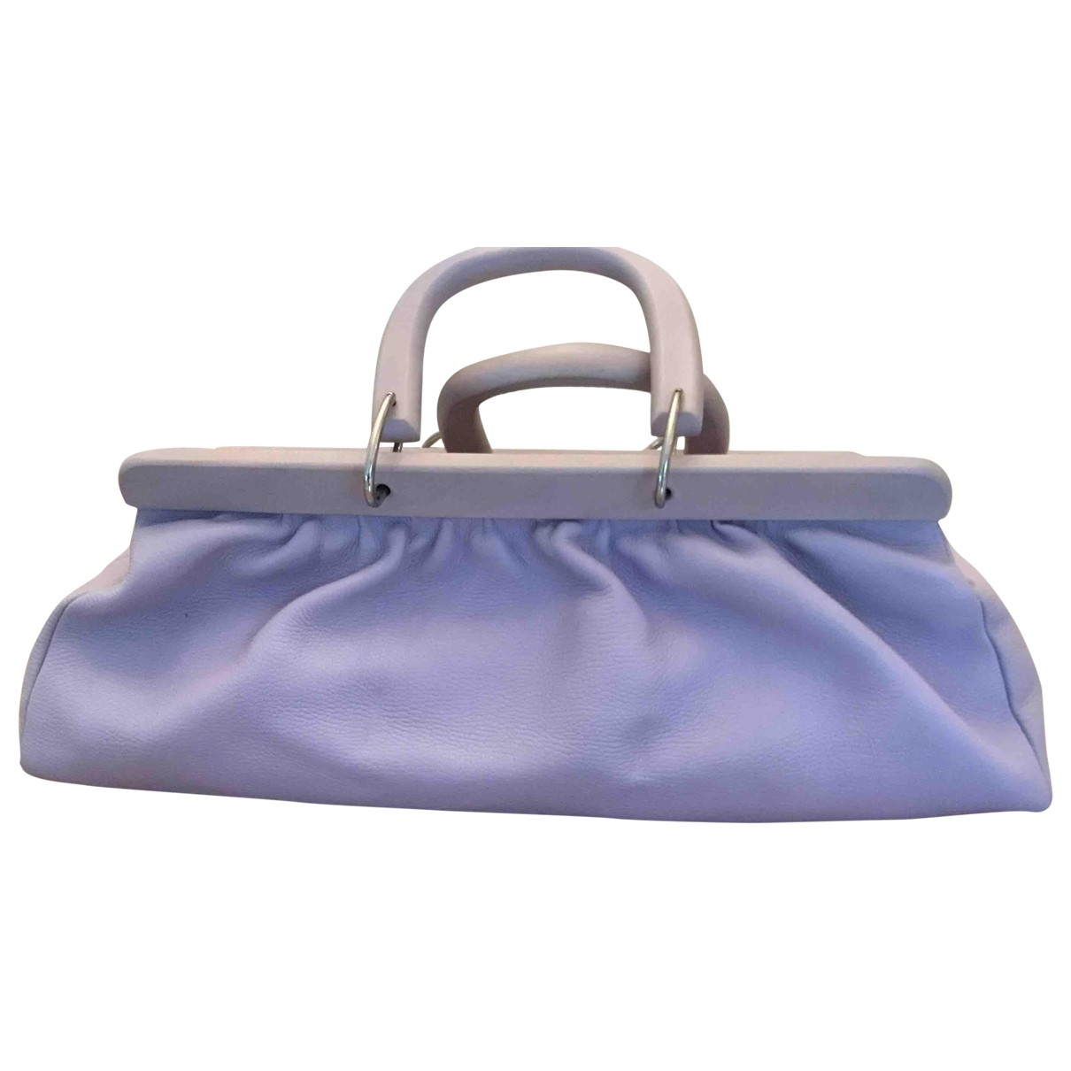 Non Signé / Unsigned \N Leather Travel bag for Women \N