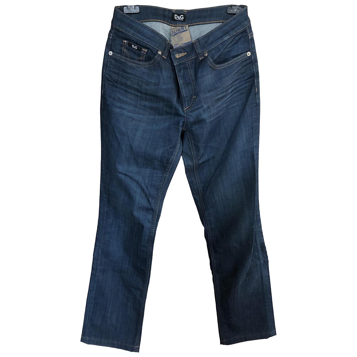 Dolce & Gabbana N Blue Denim - Jeans Jeans for Women 28 US