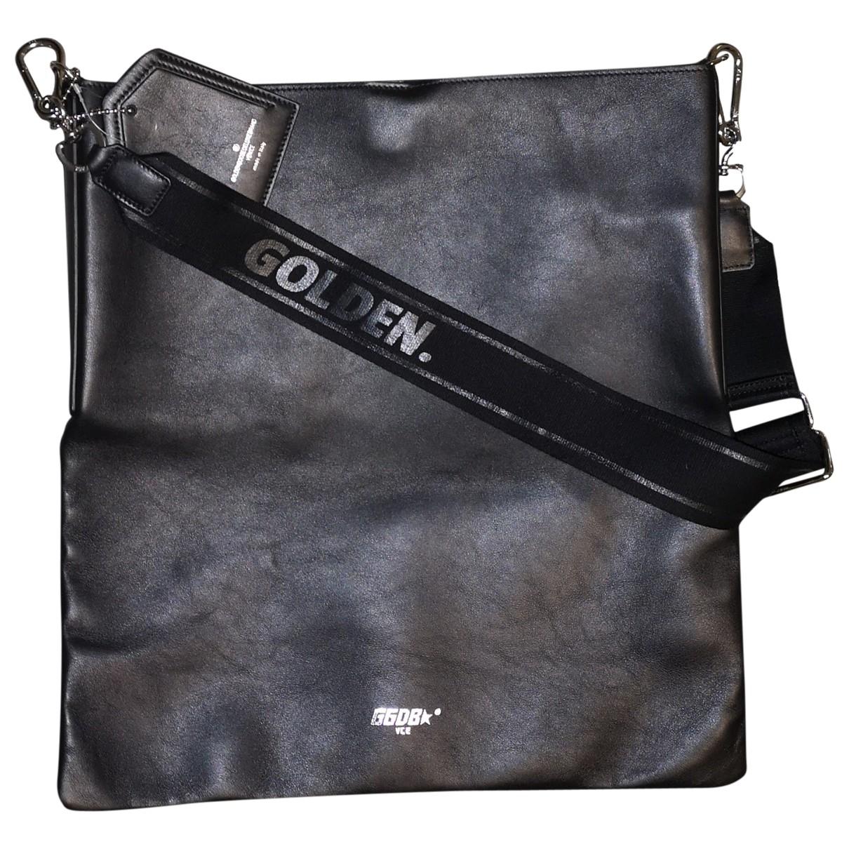 Golden Goose \N Handtasche in  Schwarz Leder