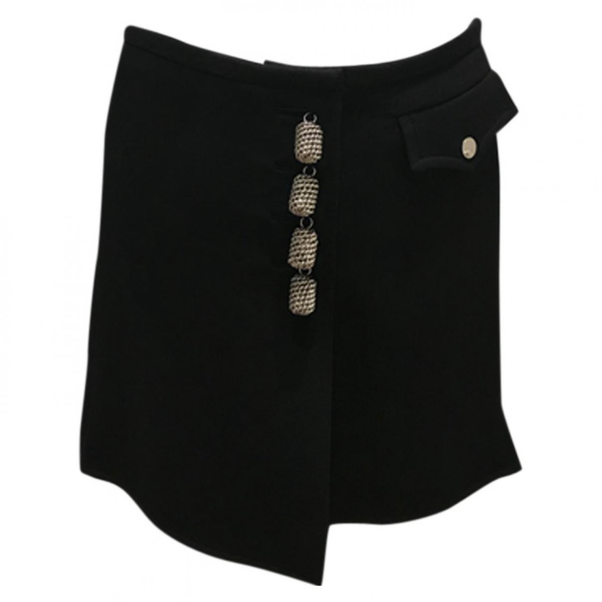 Louis Vuitton \N Black Wool skirt for Women 38 FR