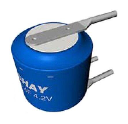 Vishay 15F Supercapacitor EDLC -20 → +80% Tolerance, 196 HVC 5.6V dc, Through Hole