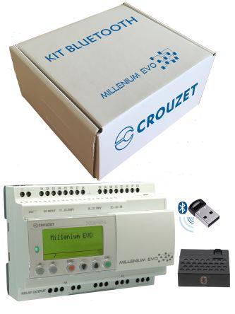 Crouzet XDP24 PLC CPU Starter Kit - 16 (Digital) Inputs, 8 Outputs, RJ45, SMTP, SSL, TCP, UDP, USB Networking