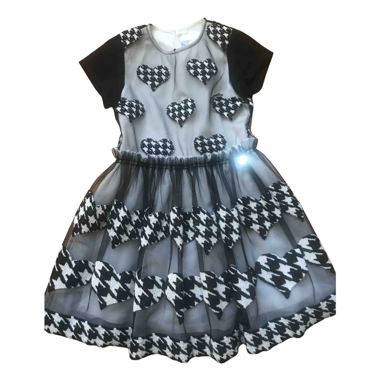 Simonetta - Robe    pour enfant - noir