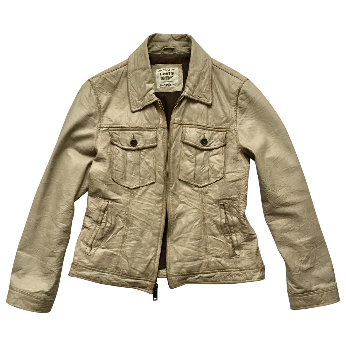 Cazadora de Cuero Levis Vintage Clothing