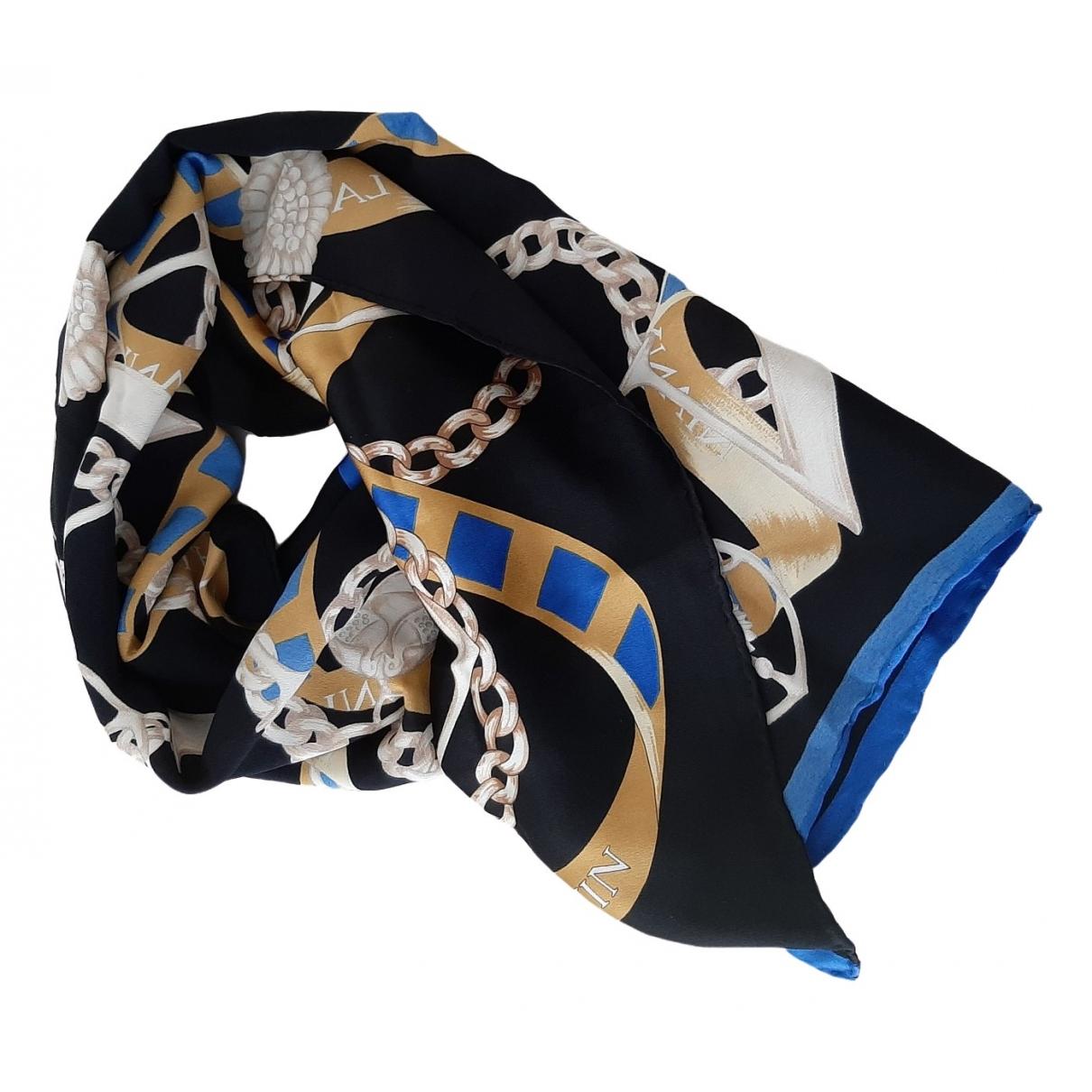 Lanvin \N Black Silk Silk handkerchief for Women \N