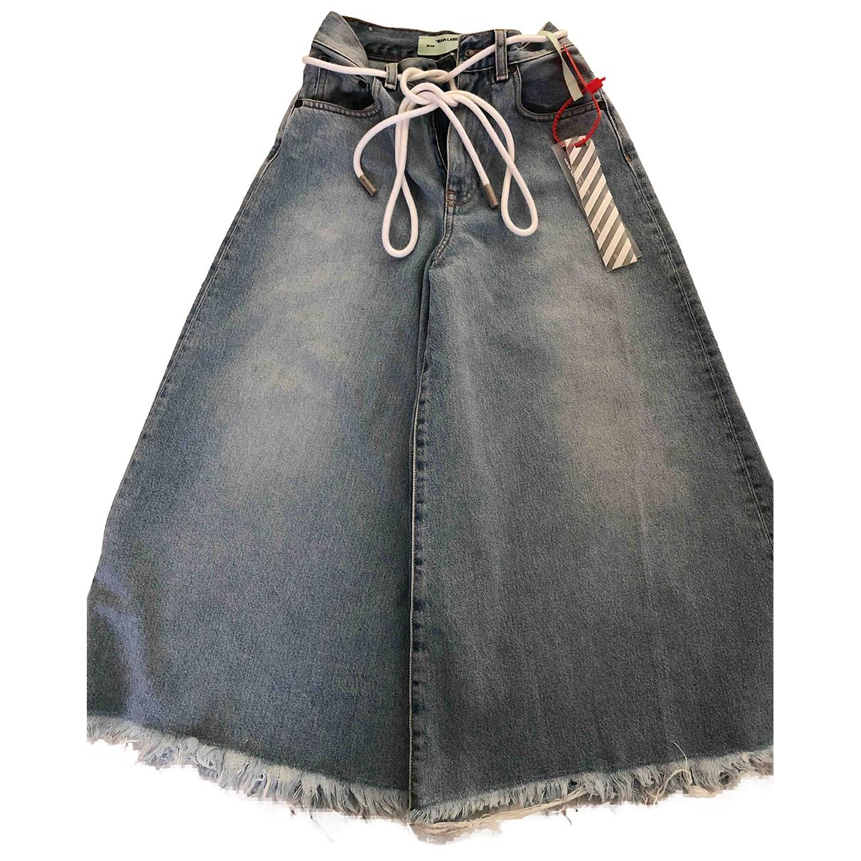 Off-white \N Hose in  Blau Denim - Jeans