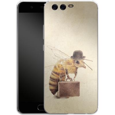 Huawei P10 Silikon Handyhuelle - Worker Bee von Eric Fan