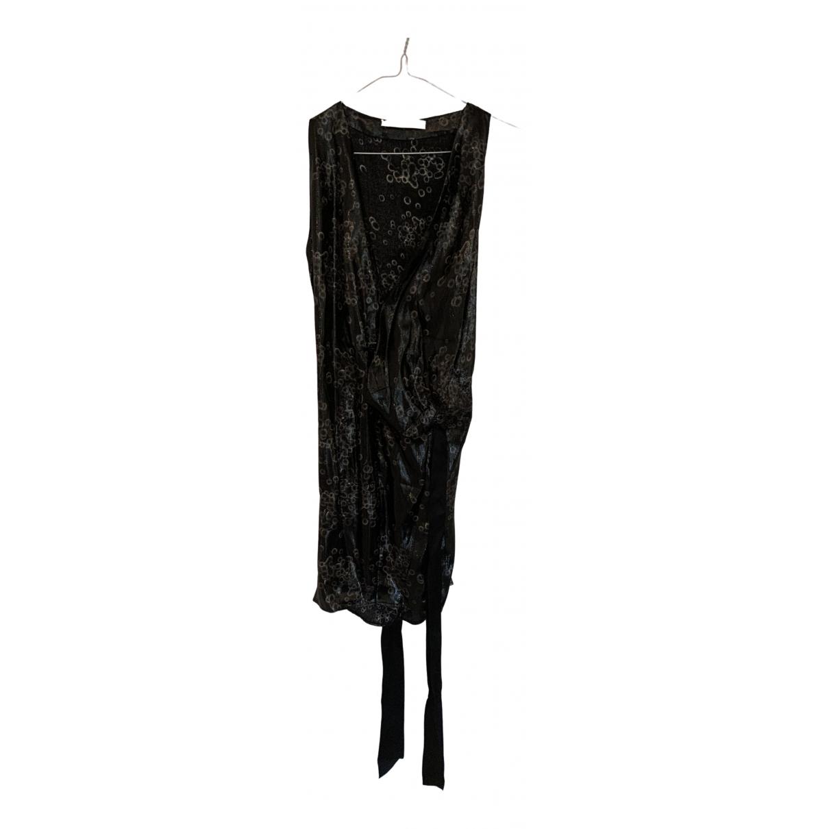 Balenciaga \N Kleid in  Metallic Seide