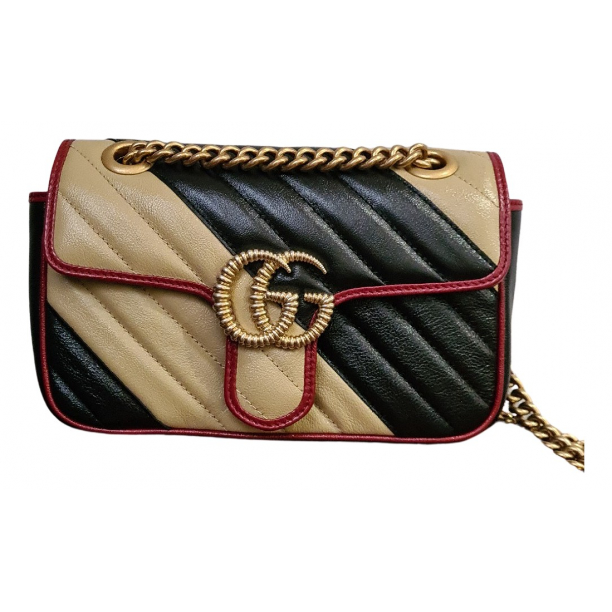 Gucci Marmont Black Leather handbag for Women N