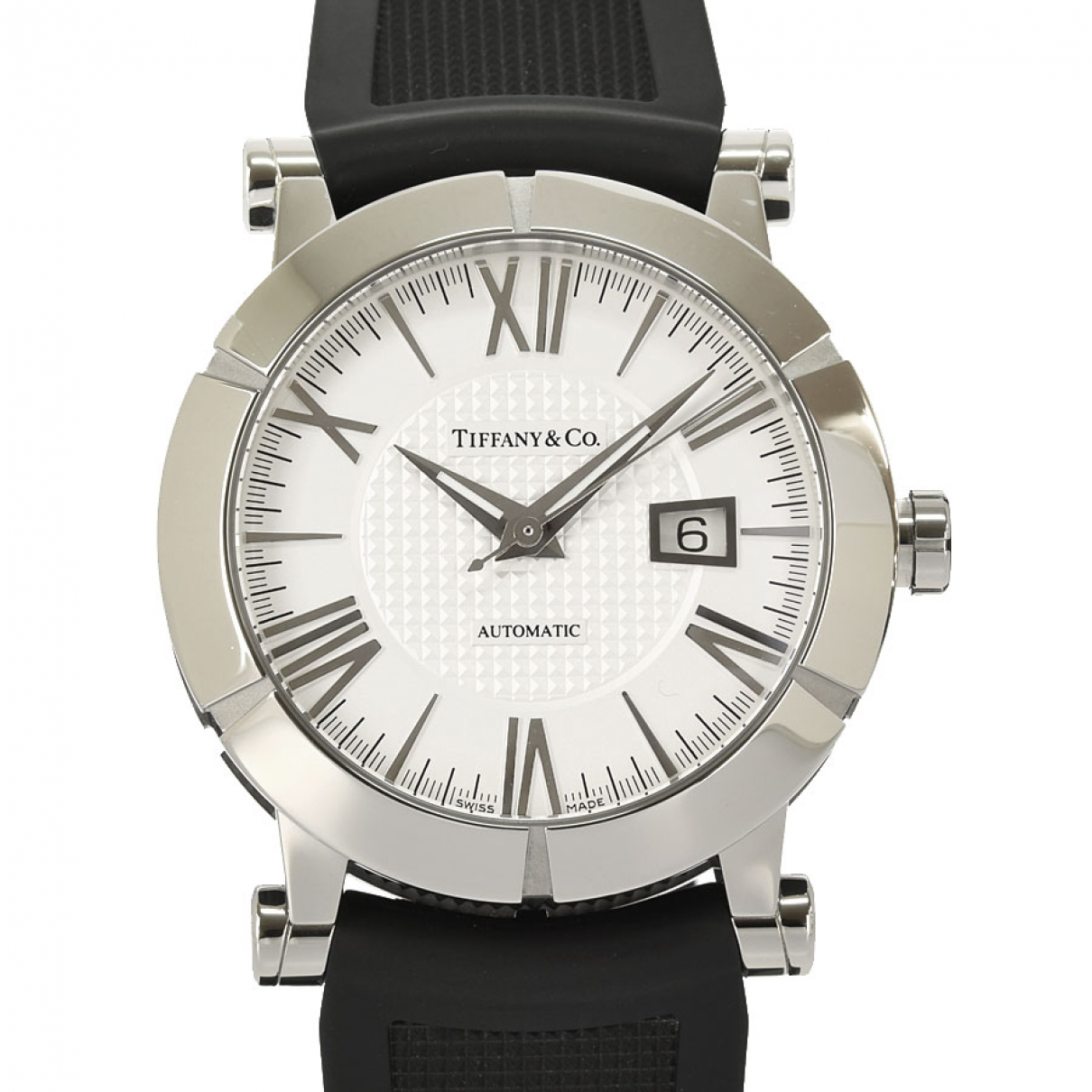 Tiffany & Co \N White Steel watch for Men \N