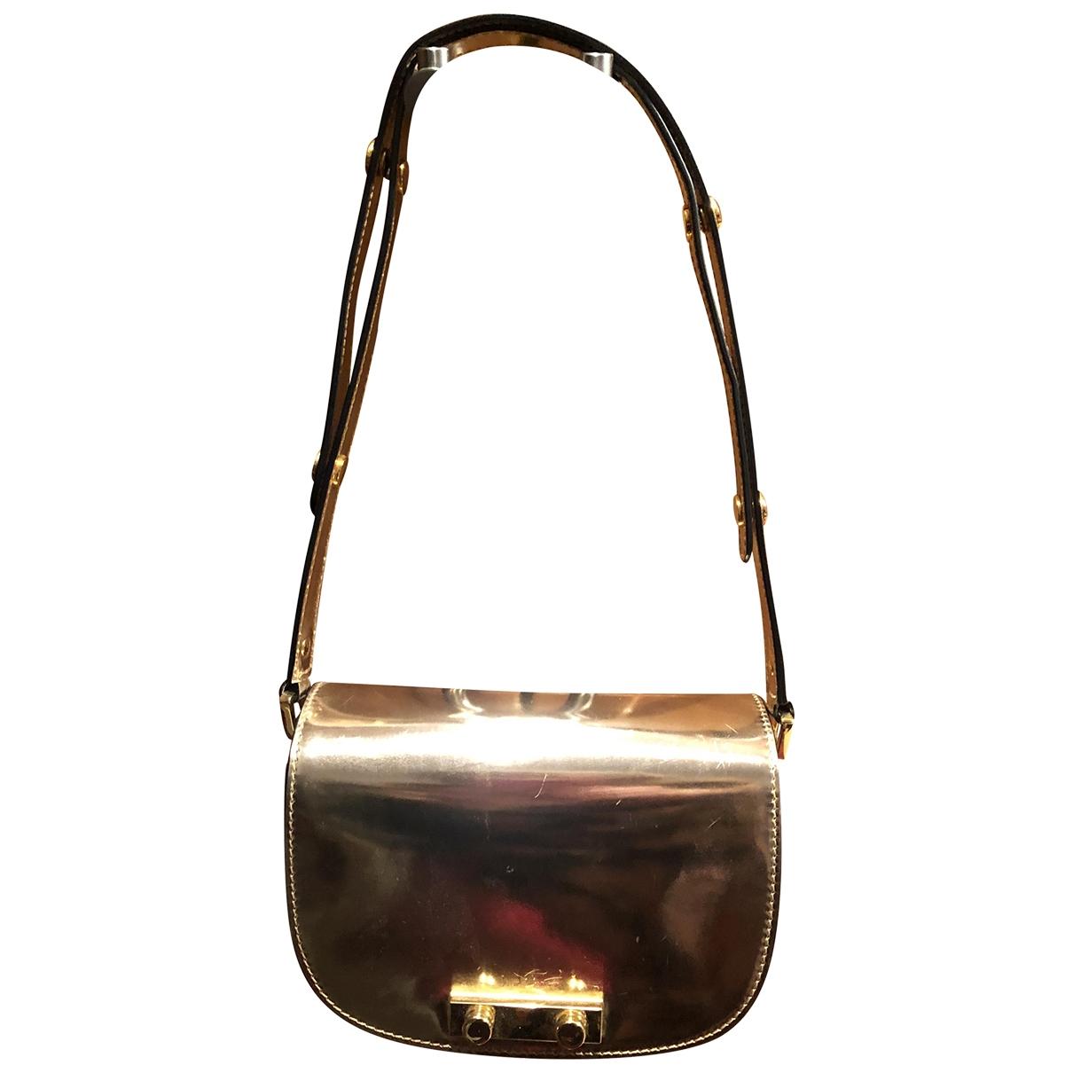 Marni \N Handtasche in  Metallic Leder