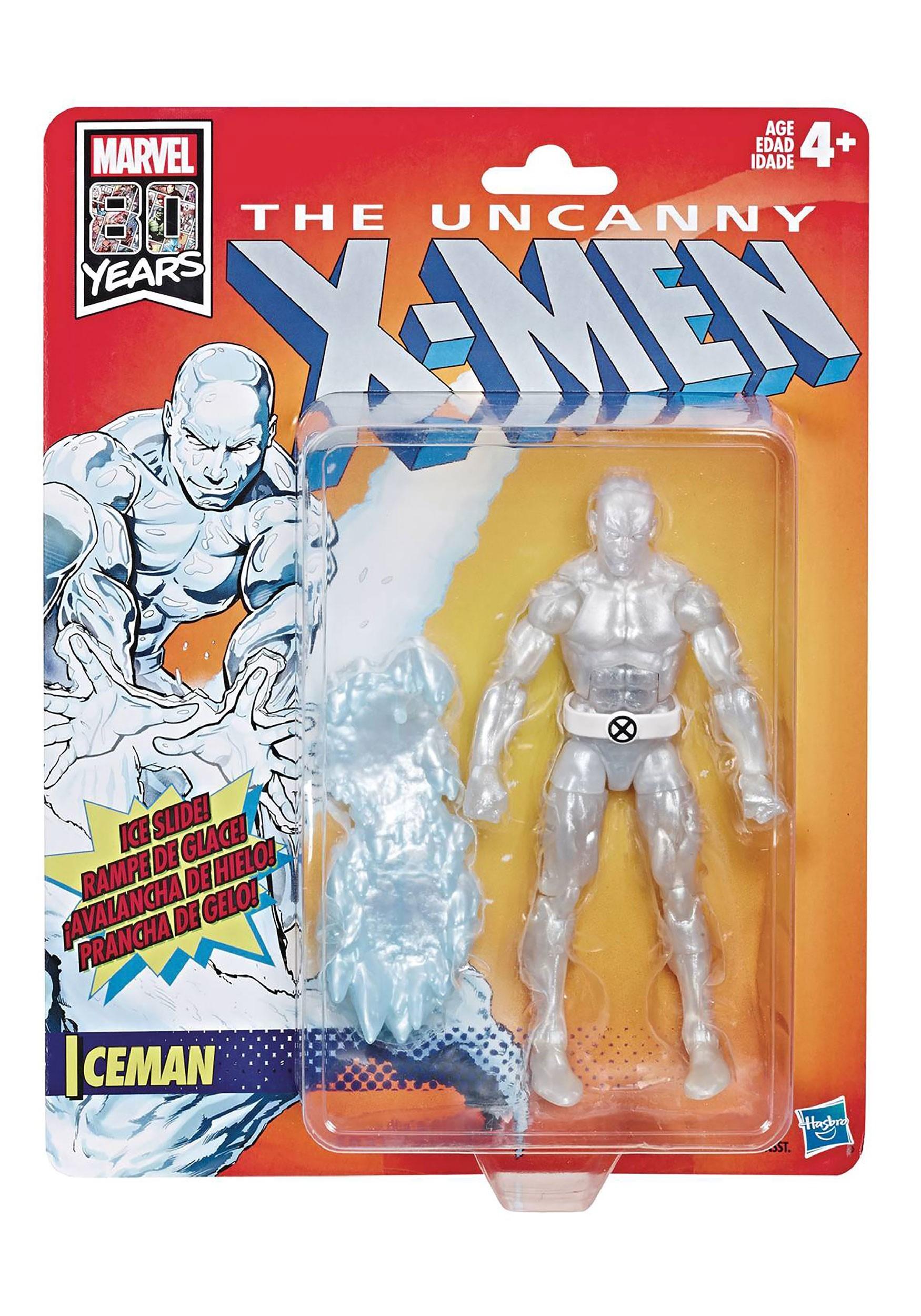 Retro 6in X-Men Legends Iceman Action Figure