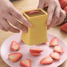 1 Stueck Zufaellige Farbe Obstschneider