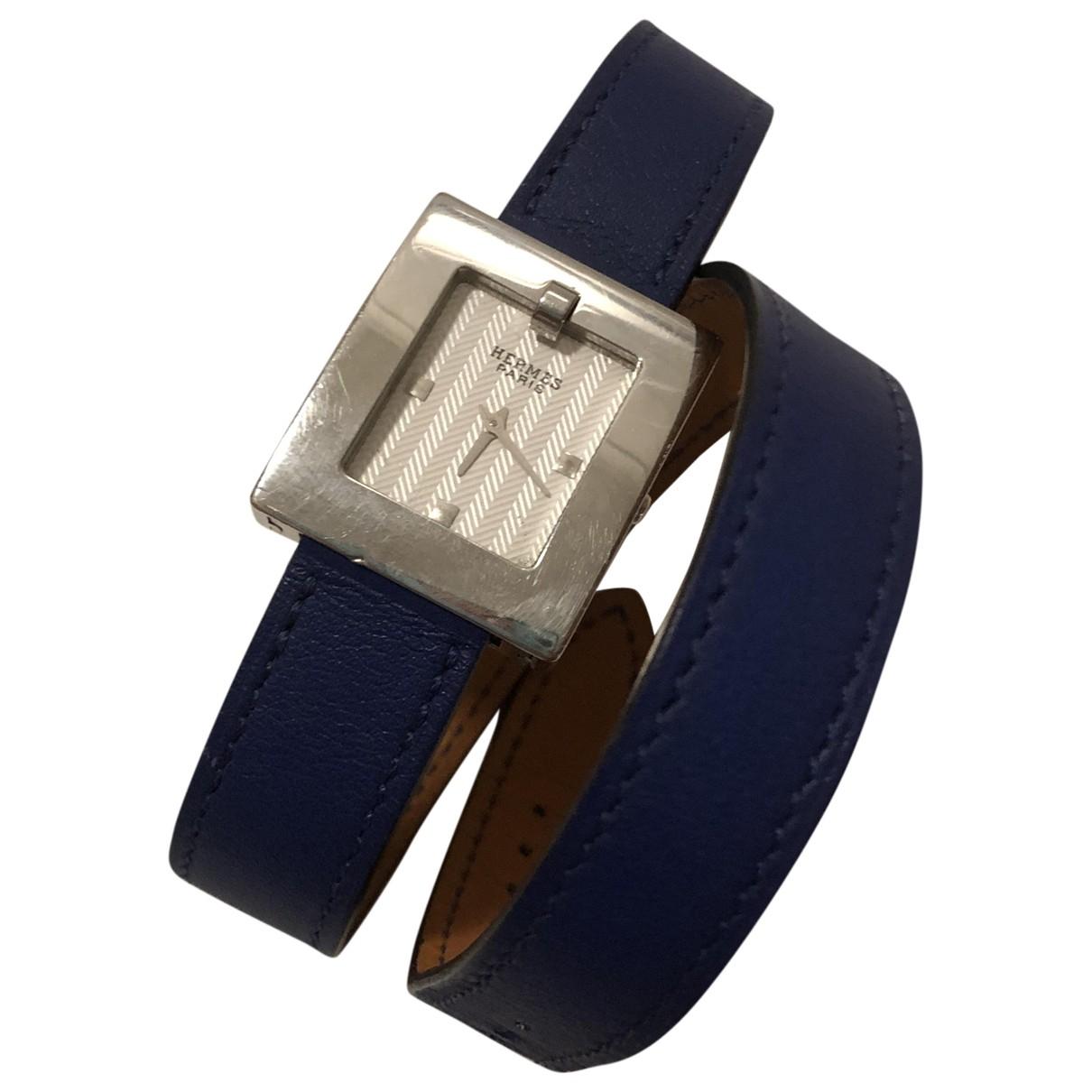 Hermes - Montre Belt pour femme en acier - argente