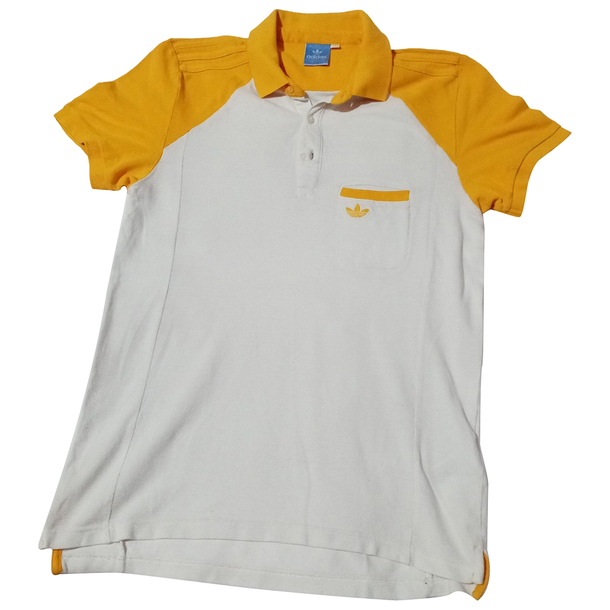 Adidas \N Yellow Cotton Polo shirts for Men S International