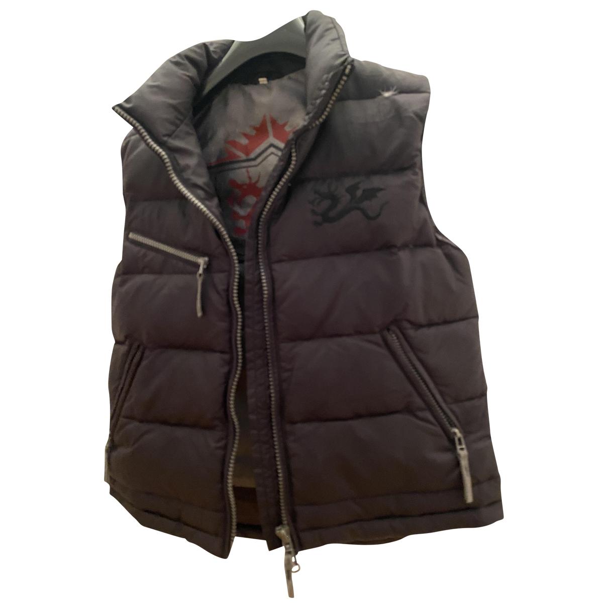Linea Pelle \N Black coat for Women 36 FR