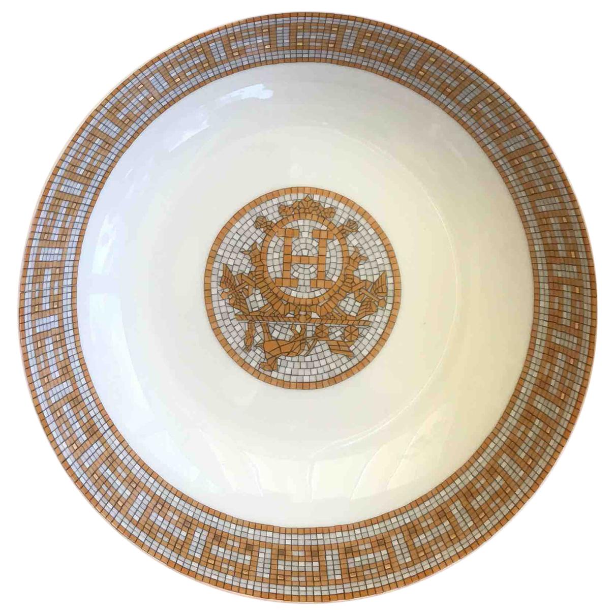 Plato Mosaique au 24 de Porcelana Hermes